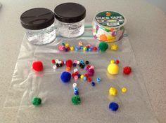 Activites basees sur la methode Montessori a la maison: Sac Sensoriel