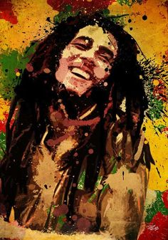 "Bob Marley ""One good thing about music, when it hits you, you feel no pain. Fotos Do Bob Marley, Bob Marley Art, Reggae Bob Marley, Bob Marley Quotes, Reggae Art, Reggae Music, Bob Marley Painting, Wallpaper Bonitos, Ps Wallpaper"