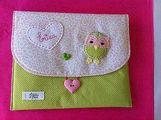 Porta Documentos envelope E (Atelier de Mimos) Tags: beb feltro tecido enxoval
