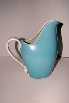 sale vintage  Metlox  pottery  art   turquoise and by capecodgypsy