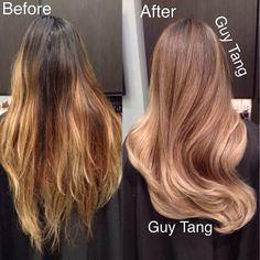 balayag done wrong | From brassy nasty to beautiful dimensional balayage ombre #makeover