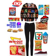 i'm soooo hungry ! by loverofeverything8infinite on Polyvore featuring polyvore fashion style Oasis Vans