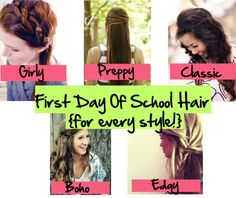 First Day Of School Hair {for every style} - The Girl, The Glitter, & The Gelding