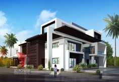 High Class Bungalow 3D Rendering Services