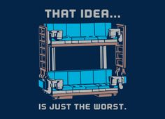 Lego movie!!! Double Decker Couch T-Shirt   SnorgTees