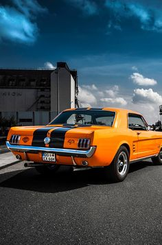 Ford Mustang, the sunbeam on a cloudy day! #FORD #MUSTANG