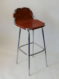 Les Arcs Barstools, newly made in the manner of Charlotte Perriand.