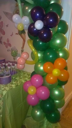Tinkerbell Birthday Party Ideas | Photo 1 of 8 | Catch My Party