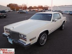 1981 Cadillac Eldorado  My 2nd car. The only difference is the color mine was a desert sand metallic and fawn interior.