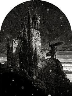 It's Nice That : Stunning fantasy illustrations from scratchboard artist Nicolas Delort Art And Illustration, Black And White Illustration, Ink Illustrations, Art Scratchboard, Nicolas Delort, Chef D Oeuvre, Clip Art, 2d Art, Wizard Of Oz