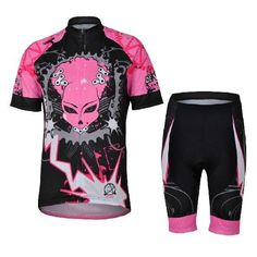 Cycling Queen Short Sleeve Cycling Jersey Set