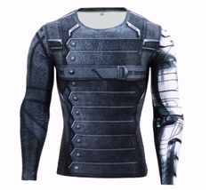 Fitness Compression T-Shirt - 3D Muscular Look