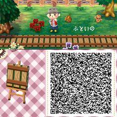 Qr Code Animal Crossing, Animal Crossing Leaf, Animal Crossing Wild World, Animal Crossing Guide, Animal Crossing Qr Codes Clothes, Animal Crossing Pocket Camp, Acnl Paths, Motif Acnl, Ac New Leaf