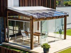 Image result for terrazza pergolato stile industriale moderno