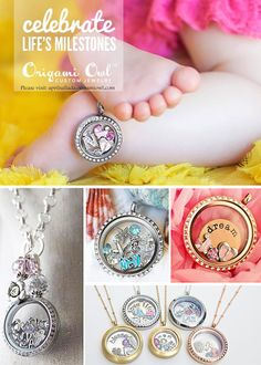 ORAGAMI OWL IMAGES | 25 Gift Certificate ~ The newest hottest trend in custom lockets.