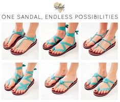 How would you wear fair trade sandals at your wedding?