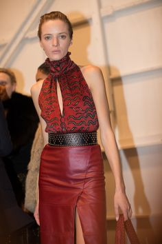 2016 Fashion Trends, Fashion 101, Runway Fashion, Pret, Fall Winter 2015,  Leather Fashion, Backstage, Looks, Pixie Cuts. Kevin Tachman   BackstageAT 63c8fc43b4