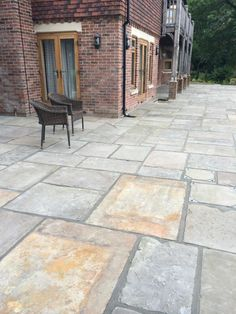 Every piece if Reclaimed Yorkstone paving has its own individual character, giving beautiful variation throughout your entire garden design.