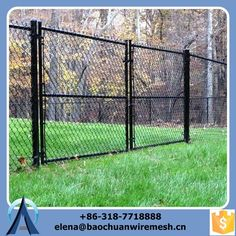 chain link fencing is a top choice because the costs are very low