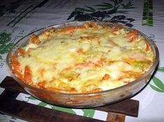Fish and vegetable curry gratin - cuisine - Meat Recipes Whole30 Fish Recipes, Meat Recipes, Asian Recipes, Healthy Dinner Recipes, Cooking Recipes, Ethnic Recipes, Vegetable Curry, Vegetable Recipes, Grated Cheese