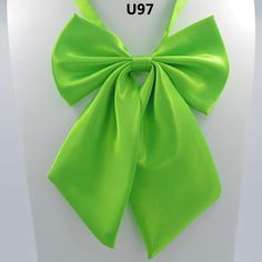 1Piece Women Tie Red Butterfly Women's Bow Tie Black Knot Female Girl Student Hotel Clerk Waitress Neck Wear Ribbon Ties green