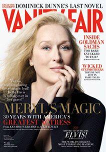 Meryl Streep on Vanity Fair