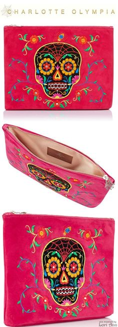 Charlotte Olympia Dead Nice Pouch - Cruise 2015