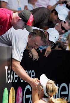 Maria Sharapova Yuri Sharapova Photos: Australian Open 2008 - Day 13