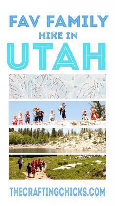 Favorite family hike in Utah #summer