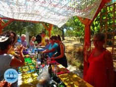 Cooking holidays on Crete: Cooking course on Crete & cooking workshop Greek cooking and Greek cooking holidays: A complete week cooking holidays on Crete Cooking Courses, Greek Cooking, Fun Activities To Do, Crete Greece, Snorkelling, Life Goes On, Island, Greece Holidays, Workshop