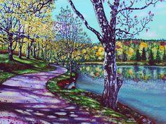 'HEAVEN' (Bass Lake, NC) by © Jerry Kirk • https://www.facebook.com/jerrykirkart
