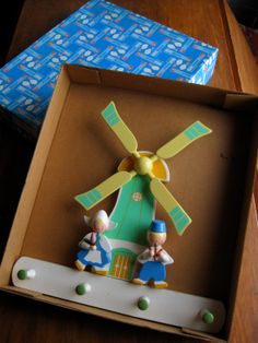 Adorable Vintage Sevi Windmill Peg Rack with by NisesNostalgia, $48.00