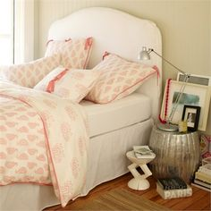 Rosenberry Rooms has everything imaginable for your child's room! Share the news and get $20 Off  your purchase! (*Minimum purchase required.) Taj Pink Duvet Cover #rosenberryrooms