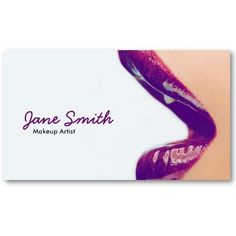 Rose gold white foil on black business card design by makeup artist business card reheart Choice Image