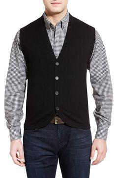 Cutter & Buck 'Bosque' Wool & Cashmere Sweater Vest
