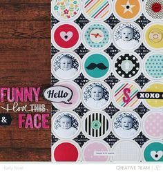 Funny Face - Studio Calico Cuppa Kit - Kelly Noel