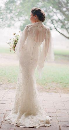 Gorgeous wedding dress idea; photo: Jose Villa