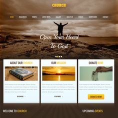 18 18 More of the Best Free & Premium Church WordPress Themes images