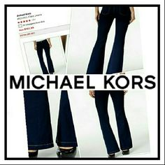 Michael Kors Jeans Michael Kors dark blue wash denim jeans... Beautiful pair of jeans,  in great condition! Michael Kors Jeans