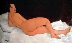 Nu couché (sur le côté gauche), an 1917 oil painting by Amedeo Modigliani