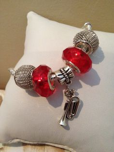 Sweet Melody-Charm Bracelet by CanastotaCreations on Etsy