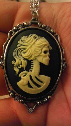Skull Necklace Piece