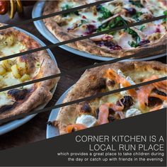 Corner Kitchen, located a moments' walk from Forest Gate station, is a café and family space during the day and a wine bar and pizzeria in the evening. We highly recommend you try their pizza. http:// www.keatons.com/access-london/corner-kitchen-e7 #London #LondonLife #LondonLovesFood #LondonEats