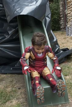 Jackson's Superhero 4th Birthday  | CatchMyParty.com