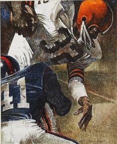 Jim Brown by Merv Corning,