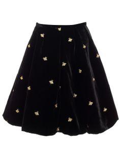 Black Leith Bee Skirt   Vivetta   Avenue32