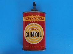 Vintage Winchester Gun Oil Can by Olin Mathieson by GreatMoments, $39.99