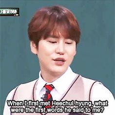 savage lee soo geun -- knowing bros -- kim heechul kyuhyun super junior gif