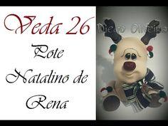 VEDA 26 - DIY Pote Natalino de Rena