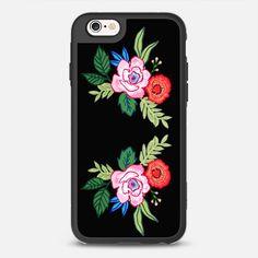 LOVE YOU A BUNCHES - NOIR -  Classic Grip Case - IPHONE 6S - by EUNEVE | No black phone? No problem!